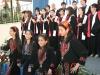 Ὁμάς νεωτέρων μαθητριῶν, χορευουσῶν παραδοσιακόν χορόν τῆς Παλαιστίνης.
