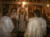 Ὁ Σεβασμιώτατος Ἀρχιεπ. Γεράσων Θεοφάνης κατά τήν διάρκειαν τῆς θ. Λειτουργίας.