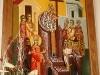 Εἰκών τῆς Ὑψώσεως τοῦ Τιμίου Σταυροῦ ἁγιογραφηθεῖσα εἰς ἱ.μ. Θαβώρ.