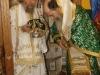 Ὁ Μακαριώτατος & ὁ Σεβασ. Ἀρίσταρχος κατά τήν διάρκειαν τῆς θ. Λειτουργίας.