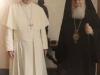 Ἡ Α.Θ.Μ. ὁ Πατριάρχης Ἱεροσολύμων μετά τῆς Α.Α. τοῦ Πάπα εἰς Βατικανόν.