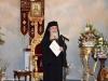 Ὁ Μακαριώτατος Πατριάρχης Ἱεροσολύμων κ.κ. Θεόφιλος εἰς τήν εὐχαριστήριον πρόποσιν Αὐτοῦ.
