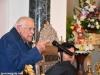 Ὁ γηραιός Ἱεροσολυμίτης δρ. Τζών Τλήλ προσφωνῶν τόν Μακαριώτατον.