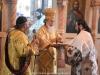Ὁ Μακαριώτατος Πατριάρχης Ἱεροσολύμων κ.κ. Θεόφιλος εἰς τὴν Θείαν Λειτουργίαν.