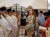 Ἡ Θεία Λειτουργία εἰς τό Προσκύνημα τοῦ Εὐαγγελισμοῦ τῆς Θεοτόκου.