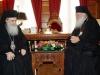 Ὁ Μακαριώτατος Πατριάρχης Ἱεροσολύμων κ.κ. Θεόφιλος εἰς συνάντησιν μετά τοῦ Μακαριωτάτου Ἀρχιεπισκόπου Ἀθηνῶν κ. Ἱερωνύμου.
