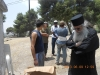 The School Principal, f. Photios, and the extreme religious trespassers
