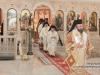 His Beatitude and His retinue inside the Holy Church of St Photini, the Samaritan Woman