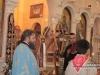 His Beatitude presides over the divine liturgy