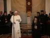 Pope Benedict XVI giving His address.