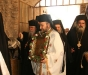 The chanting procession to the Patriarchate.