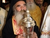 The Superior Rev. Fr. Ioustinos holding the sacred relics