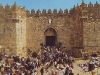 Entrance of Damascus Gate and the central market street.