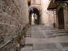 The Greek Patriarchate Road with no access to the Church of Ressurection