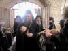 11. Members of the Brotherhood receiving blessed bread.
