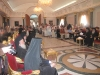 13. The Throne Hall with the devout participants.