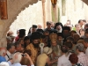 08. H.B at the Litany with pilgrims.