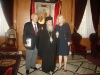 4.His Beatitude with His Excellency Mr. Filonos and Mrs. Tomais