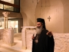 H.B. guided at a Byzantine era chapel.