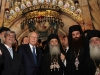 H.B. with the President at the Holy Sepulchre.