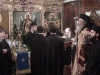 The Archbishop f. Ephsevios and the novices sing