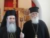 His Beatitude together with parish priest f. Elias