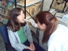 The children of the Center of Love during dental examination