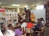 The children are informed about creations with plastecine