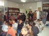 The children and the volunteers of the Center attend the presentation regarding dental care