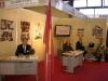 """Dr. Aikaterini Diamantopoulou, Mr. Panagiotis Diakoumis, Mr. Michael Moulavasilis and Mr. Nikolaos Koutsoubos at the kiosk of N.G.O. """"Romiosini"""" at the Exhibition """"ORTHODOXY"""""""