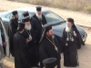 His Beatitude and his escort arrive at Kasr-Il-Moutran/The Tower of the Bishop.