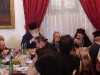 Metropolitan Kyriakos offers a formal supper to His Beatitude.