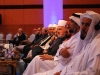 Clerical leaders from the Islamic, Jewish, and Christian faiths listen to a panel of guest speakers at Doha\'s 9th annual International Conference on Interfaith Dialogue.