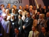A group shot of participants at Doha\'s 9th annual International Conference on Interfaith Dialogue.