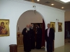 His Beatitude together with the Patriarchal Vicar f. Makarios