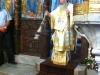 His Beatitude presiding over the Divine Liturgy