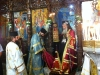 His Beatitude at the Holy Church of the Annunciation of the Theotokos