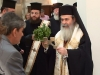 His Beatitude blesses the staff