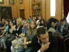 The group of young people from Srpska at the Patriarchate
