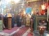 Metropolitan Isichios during the Divine Liturgy