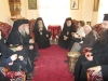 His Beatitude and the Escort at the Archodariki (guest-house)