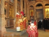 His Beatitude during the Holy Communion.