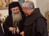 His Beatitude during the visit to the Fransciscans.