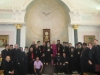 H.B. with Latins, Copts, Syrians, Maronites and Lutherans.
