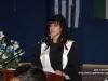 Student delivers appreciation speech