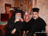 The Metropolitan of Kapitolias and the newly-ordained deacon at the gathering after the ordination