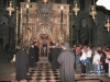 His Beatitude and retinue at the Holy Sepulchre