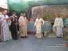 The Archbishop of Lydda at the site of the Ascension