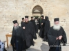 The retinue of the Guardians of the Holy Sepulchre at the site