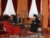 His Beatitude converses with Mr Mihailov
